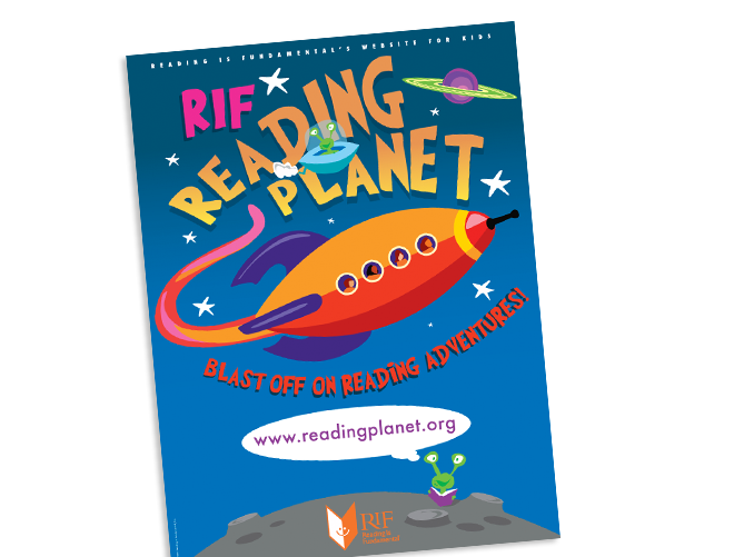 Reading is Fundamental (RIF) Reading Planet poster