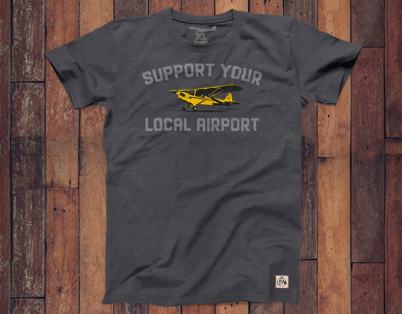 Support Your Local Airport shirt